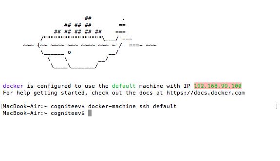 Docker-console