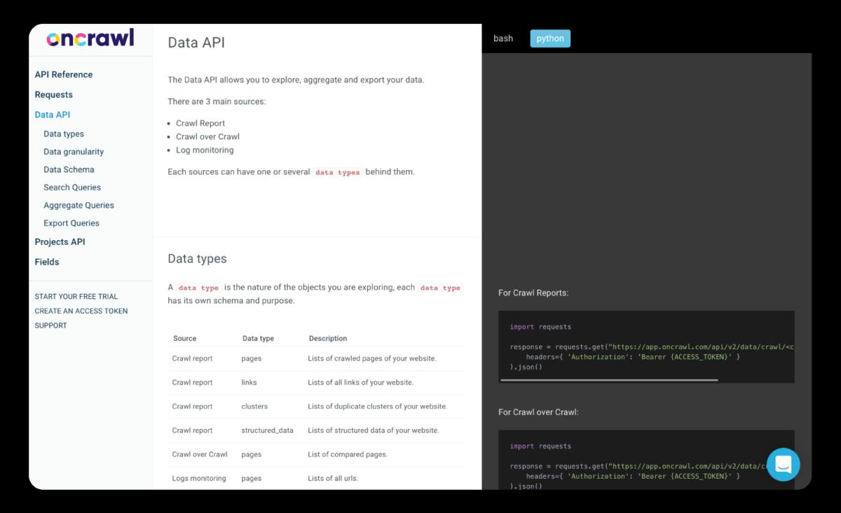 automate-seo-API-oncrawl